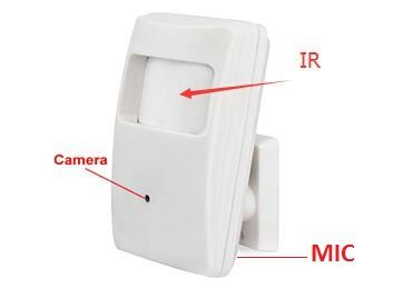 2MP HD COVERT 'PIR' SPY CAMERA (PIR-4IN1-HD)