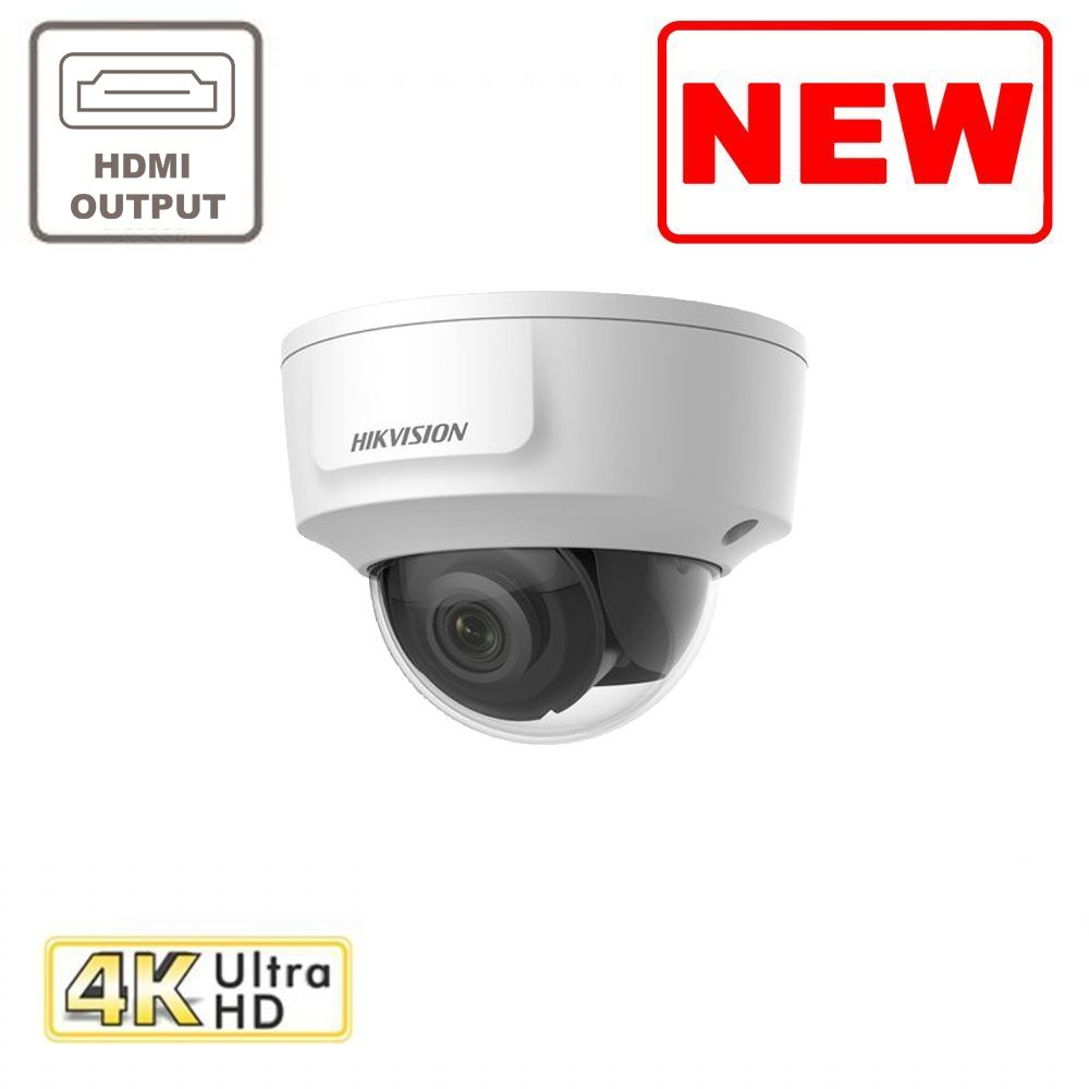 8MP DS-2CD2185G0-IMS IR Fixed Indoor HDMI Dome Network Camera