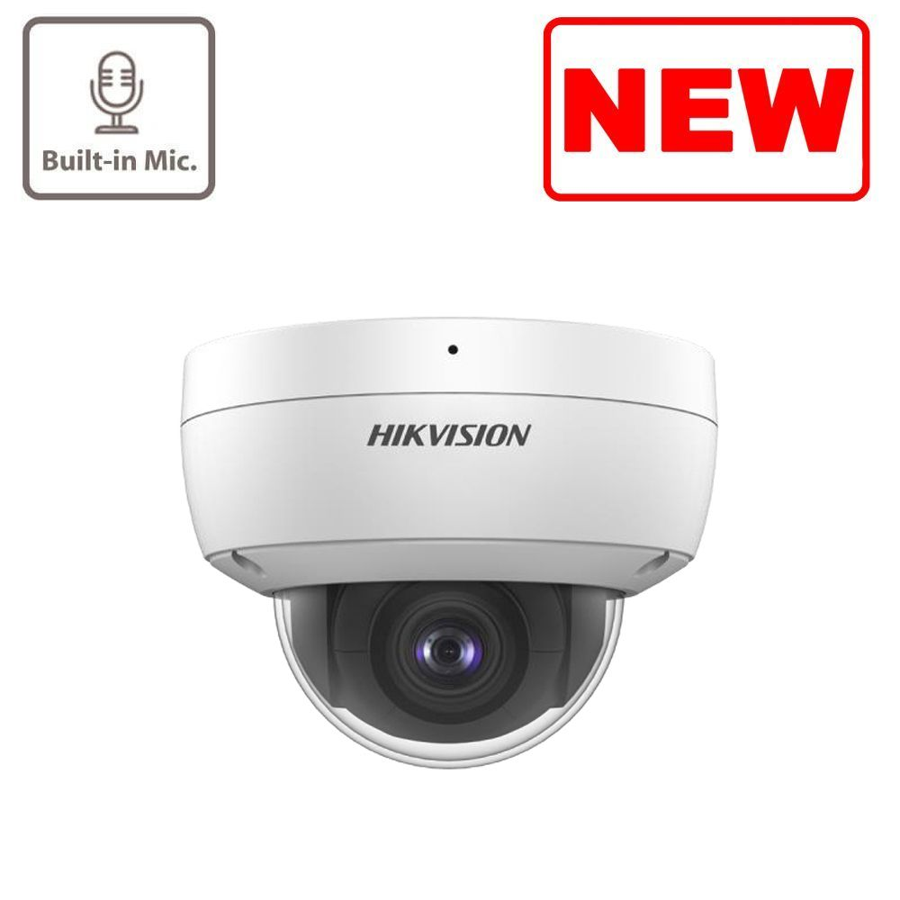 NEW 4MP DS-2CD2143G0-IU Dome Network Camera With Built-In Microphone Hikvision
