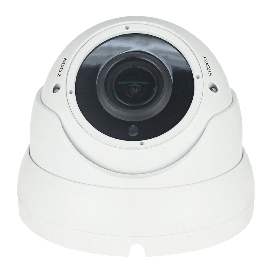Oracle White Varifocal Dome Camera 5mp (4IN1-DW-5MP)
